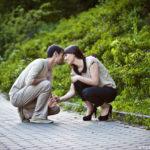 Asia i Tomek | Sesja dla zakochanych w parku | Warszawa