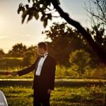 Asia i Mateusz | Klasyczna sesja poślubna w sadzie | Warszawa